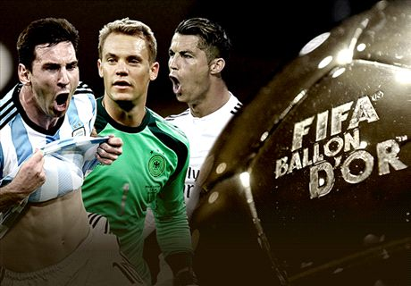 Ballon d'Or trio's amazing records
