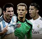 CR7, Messi & Neuer's amazing records