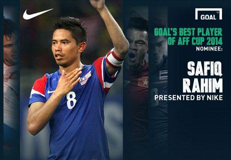 AFF 2014 Best Player Nominee: Safiq Rahim