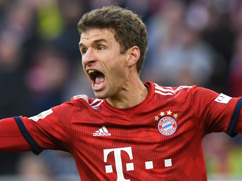 Bayern Munich star Muller to miss Liverpool Champions League clashes through suspension