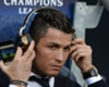 Cristiano Ronaldo listening to music