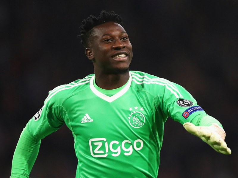 Ajax goalkeeper Andre Onana 'can't wait' for Juventus showdown