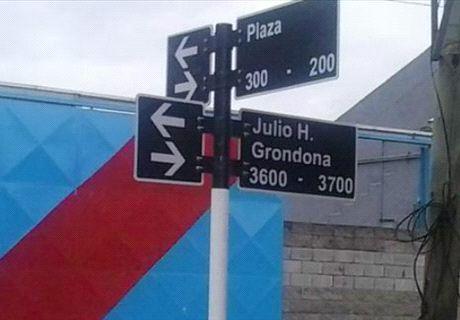 Calle Julio Grondona
