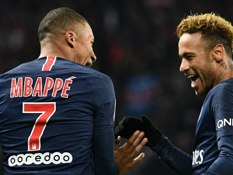 Mbappe will become one of the best in history – Neymar