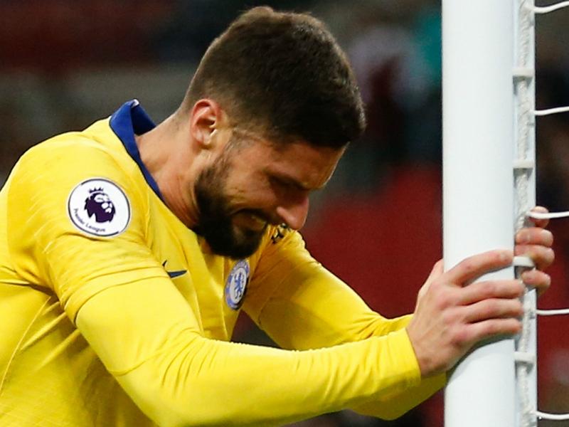 VIDEO - Giroud n'a pas l'intention d'abandonner