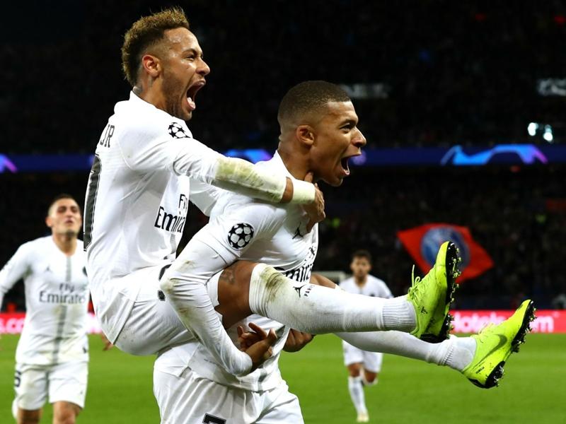 LDC - Le Paris Saint-Germain face à Manchester United en huitièmes de finale