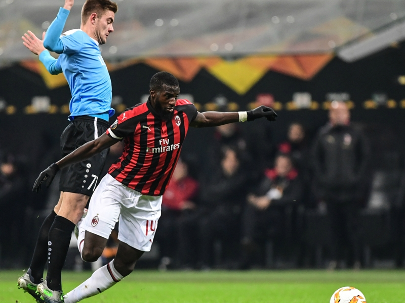 Milan, Bakayoko sorti sur blessure