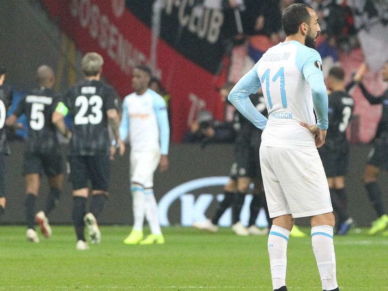 Francfort-Marseille 4-0, le calice jusqu'à la lie pour l'OM