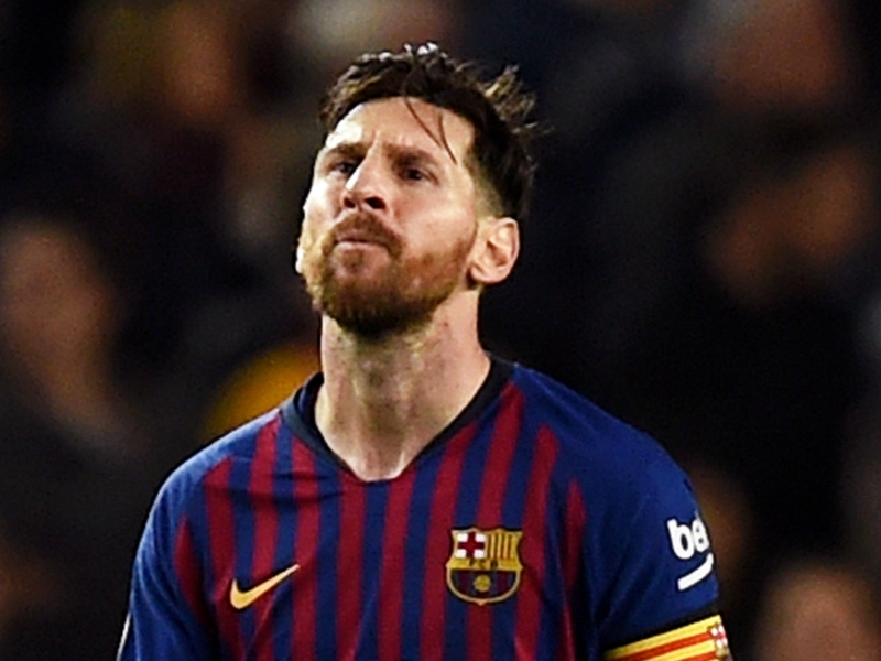 Messi finishes fifth in Ballon d'Or chart