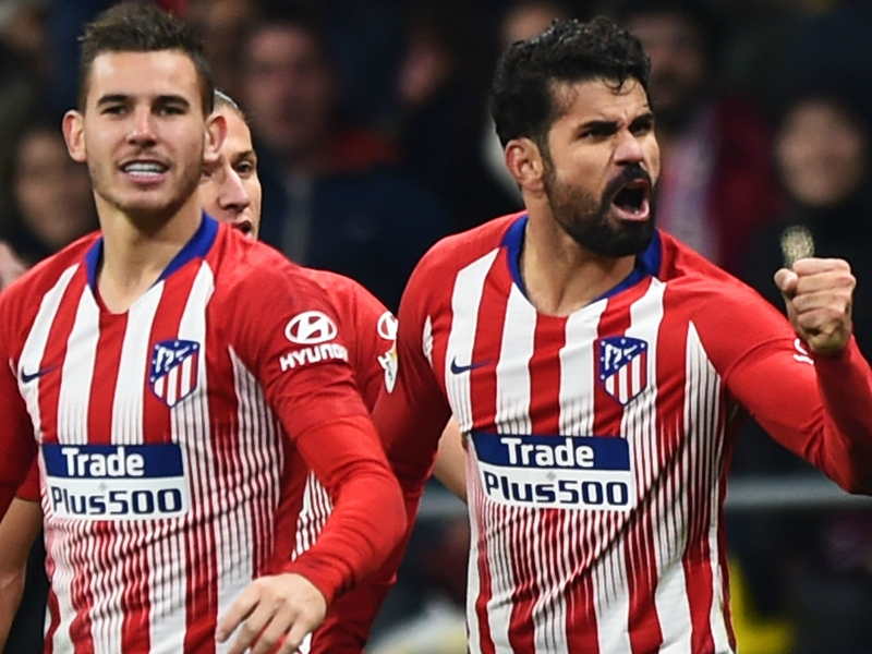 Simeone expects to call on Diego Costa despite training injury
