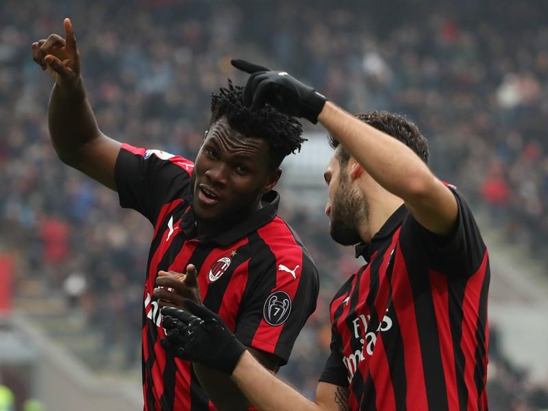 Franck Kessie scores winner in AC Milan's comeback vs. Parma