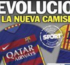 ¿Las camisetas de Barcelona 2015?