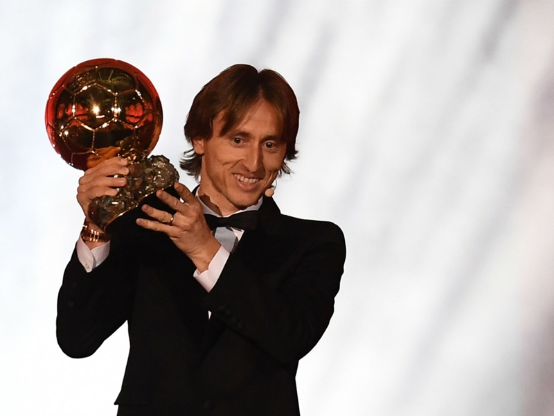 "Ballon d'Or 2018, Luka Modric : ""C'est un sentiment unique"""
