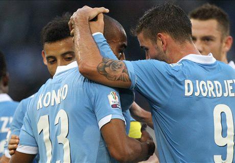 Pokal: Lazio im Achtelfinale