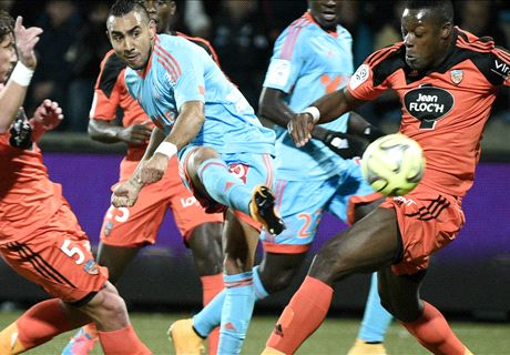 Ligue 1: Lorient 1-1 Marsella
