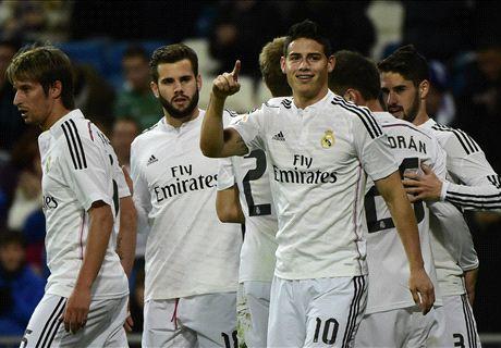 Copa del Rey: Real Madrid 5-0 Cornellà