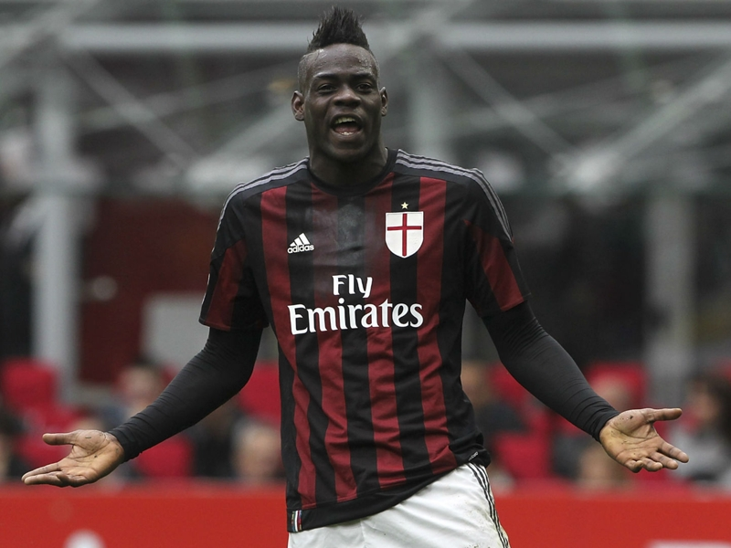 Balotelli rules out Milan return in blast at disrespectful fans