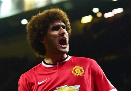 Fellaini: I was an easy target at United