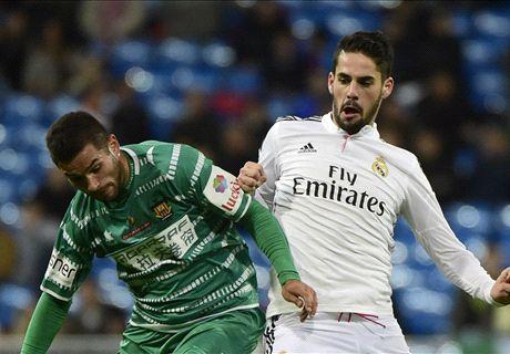 Real Madrid 5-0 Cornellá: calificaciones