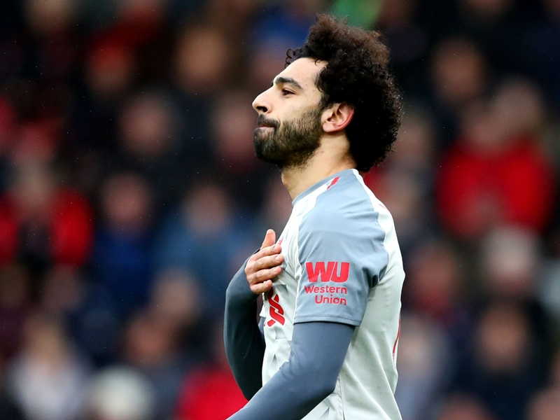 Slick Salah second only to Messi on European goal chart