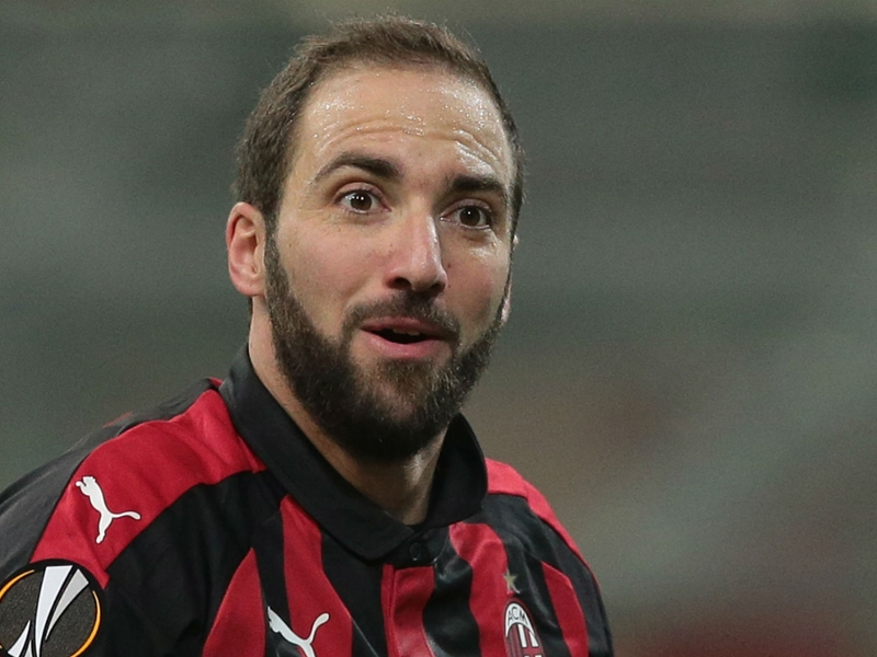 'This is not the right time for him to leave' - Capello hopes Higuain stays at Milan amid Chelsea speculation