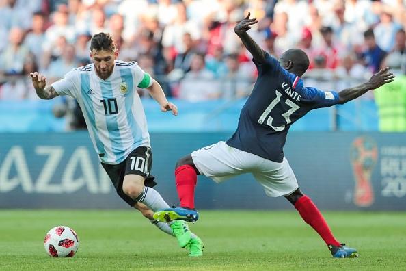 Barcelone - Lionel Messi a vu le président de la Fédération argentine