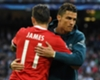 James Rodríguez & Cristiano Ronaldo Real Madrid - Bayern Champions league