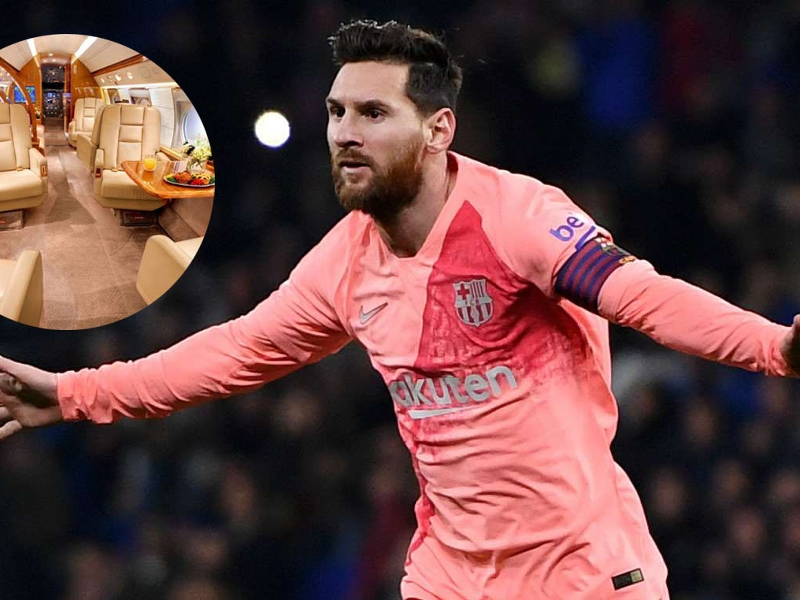 Messi Airlines: Inside the Barcelona star's new private jet