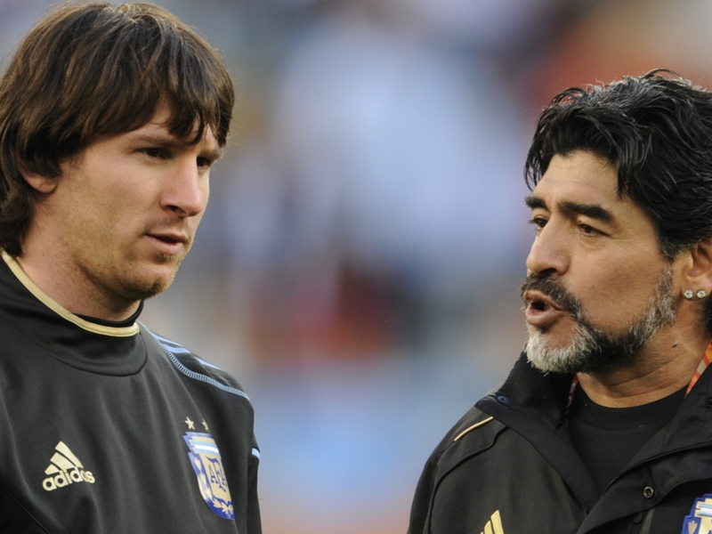 How Maradona helped Messi become the world's best free-kick taker