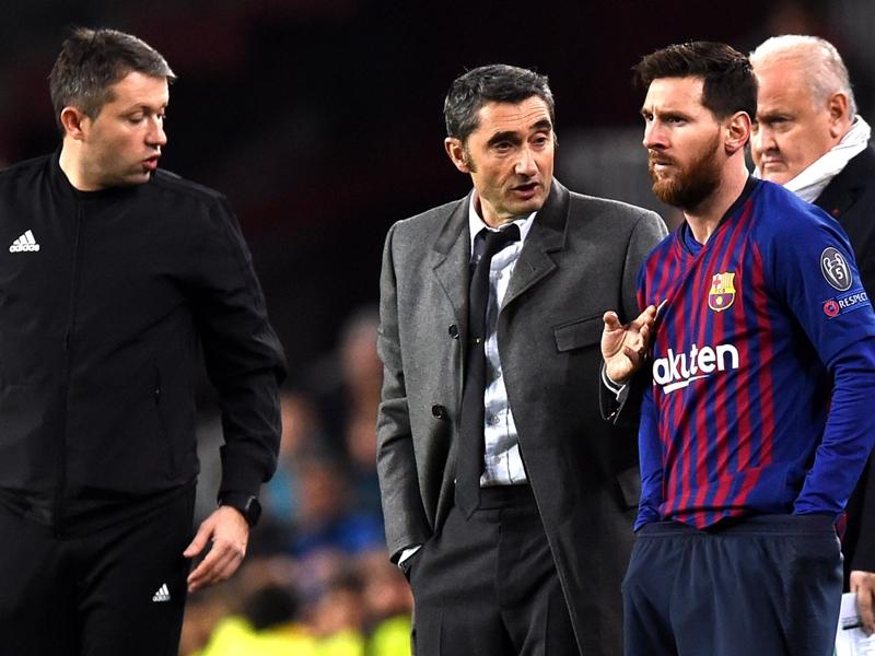 VIDEO - Barcelone, Ernesto Valverde :