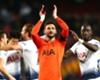Hugo Lloris and his Tottenham team-mates celebrate