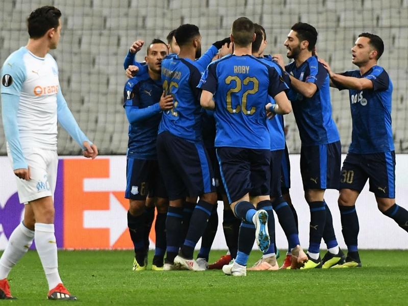 Marseille-Limassol 1-3, l'OM dit au revoir à l'Europe sur un nouveau revers
