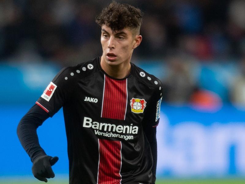 Kai Havertz, le prodige NxGn nouvellement diplômé de Leverkusen