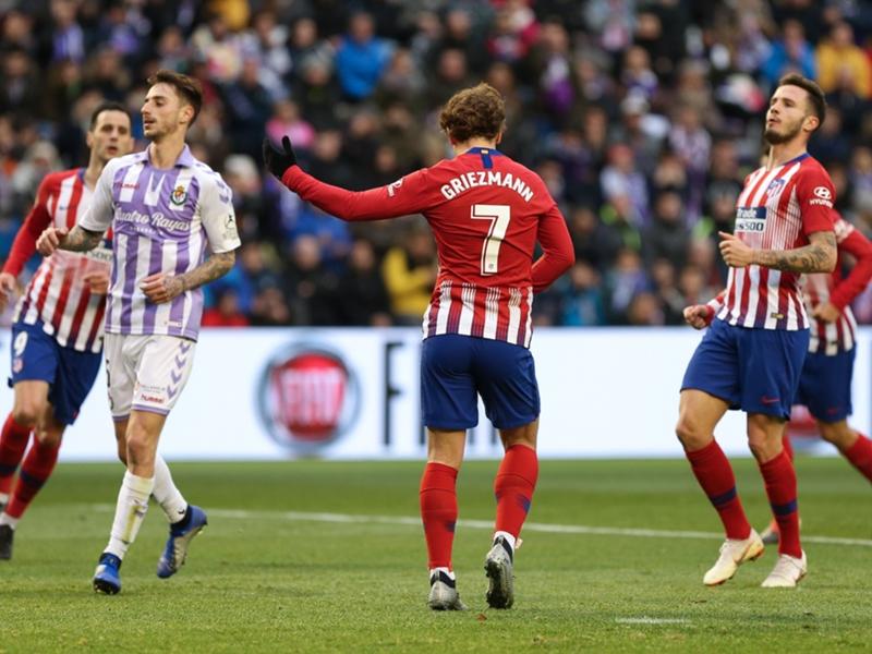 Valladolid-Atlético de Madrid 2-3 - Griezmann porte l'Atlético