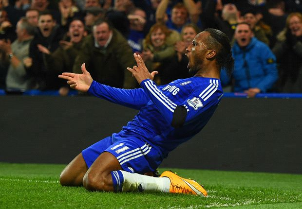 Chelsea 3-0 Tottenham: Drogba stars in routine win