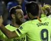 Levante-Barça 0-5, le Barça s'impose, Messi s'offre un triplé