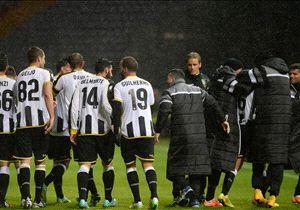 L'Udinese festeggia il passaggio del turno