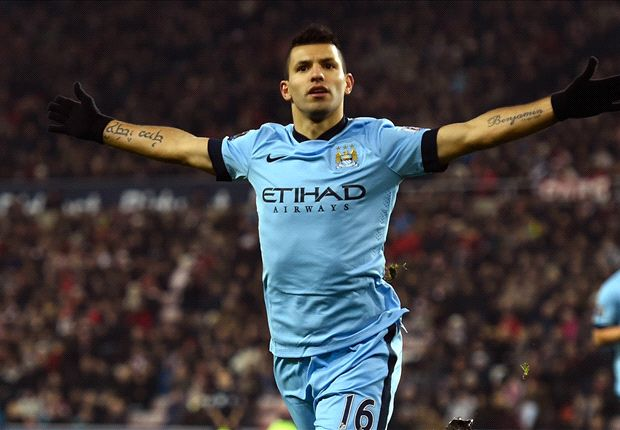 Sunderland 1-4 Manchester City: Aguero leads Pellegrini's resurgent side to victory