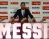 Lionel Messi, beşinci kez Altın Ayakkabı ödülünü kazandı