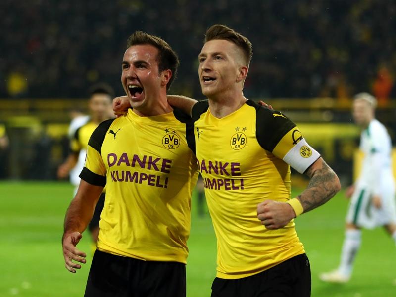 Borussia Dortmund-Borussia Mönchengladbach 2-1 - Dortmund reprend sa marche en avant