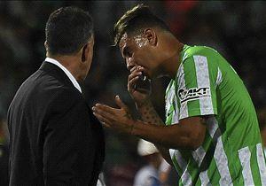 Osorio sintió que el clima que se vivió en el Monumental influyó en el resultado.