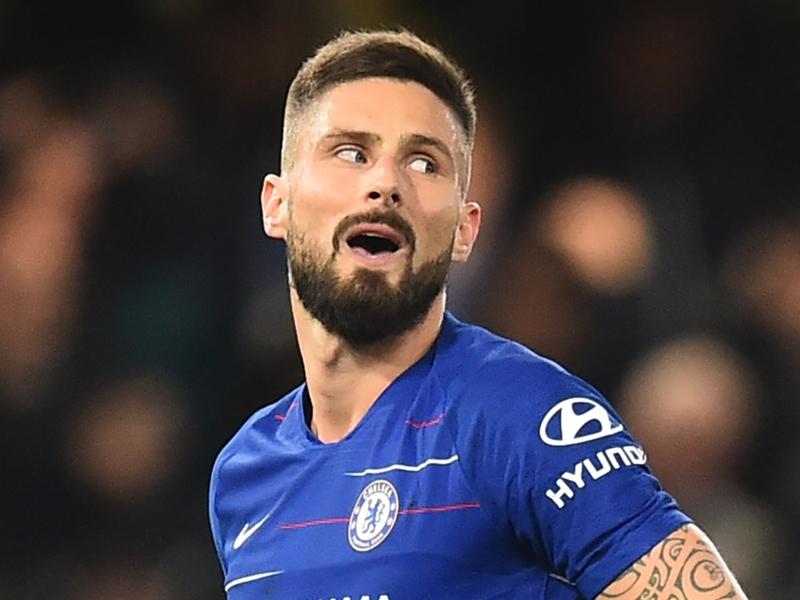 Giroud finding Chelsea bench duty 'difficult' as Higuain deal edges ever closer