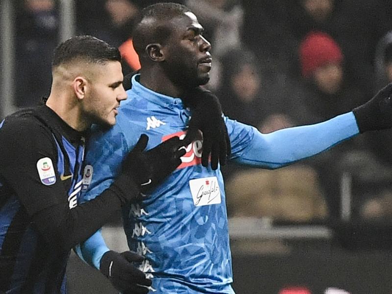 Salah, Icardi et les joueurs venus au soutien de Koulibaly