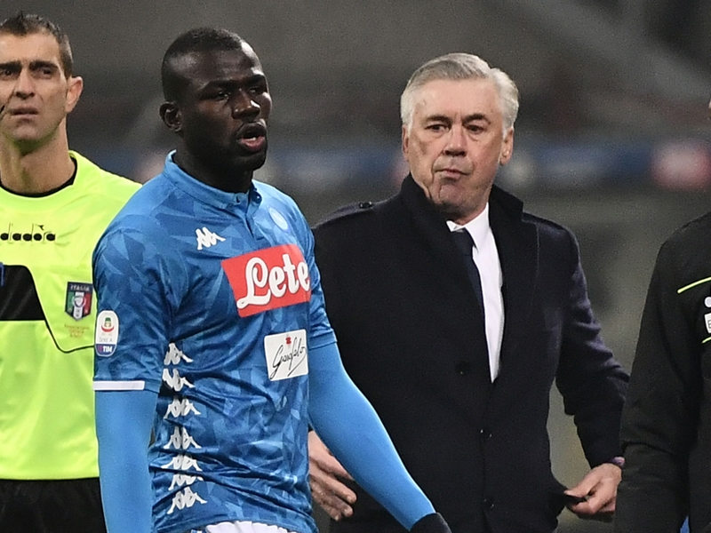 Serie A - Le défenseur de Naples Kalidou Koulibaly a subi des cris et des insultes racistes contre l'Inter Milan