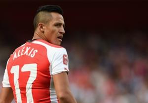 Alexis Sanchez, bisa kembali muncul di daftar pencetak gol.