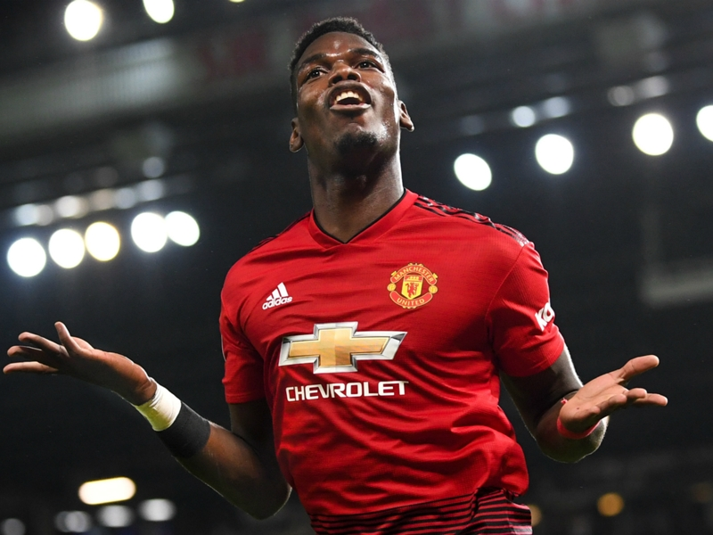 No more Mou: Pogba pleased just to be playing again as he challenges Man Utd to keep winning