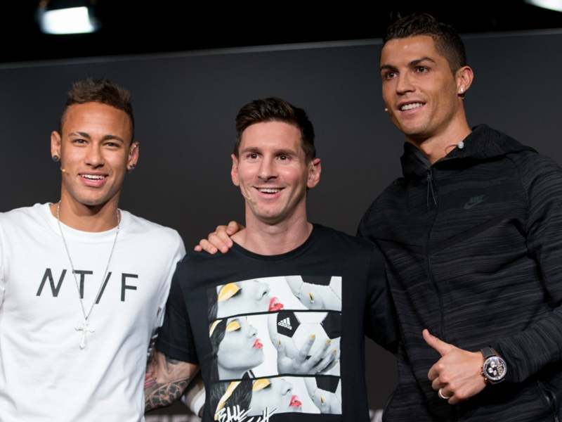 'Exceptional Neymar' on same level as Ronaldo and Messi – Zico