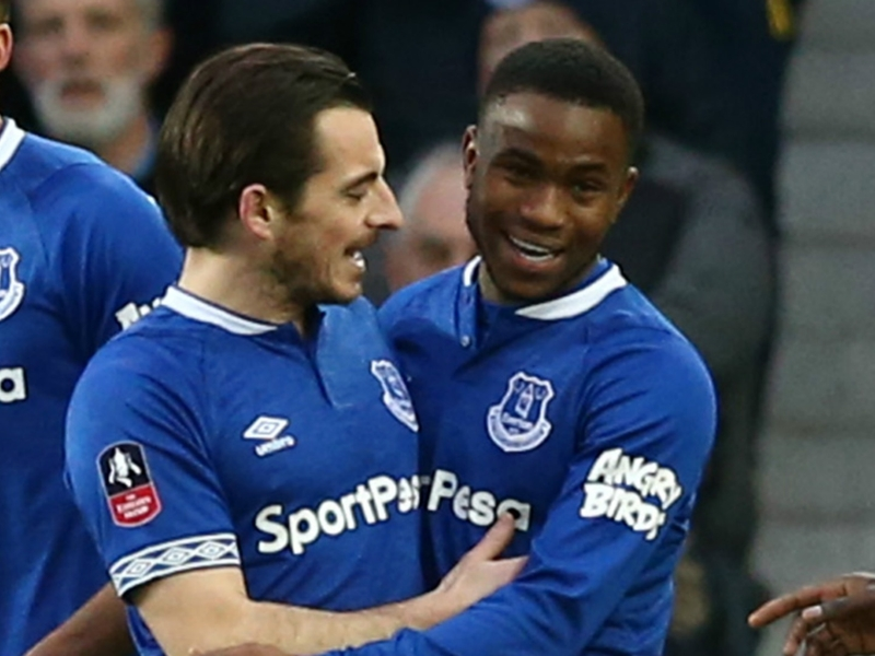 Everton winger Ademola Lookman relishing playing time under Marco Silva