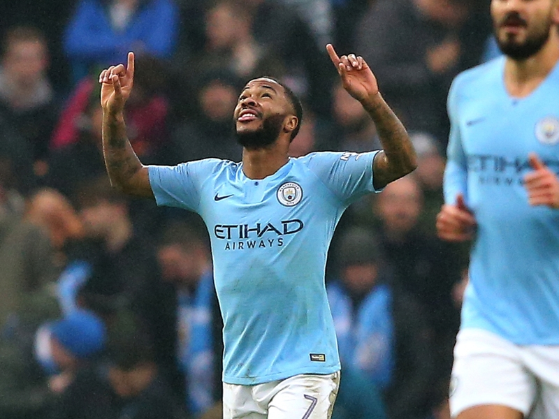 Man City's Sterling could go