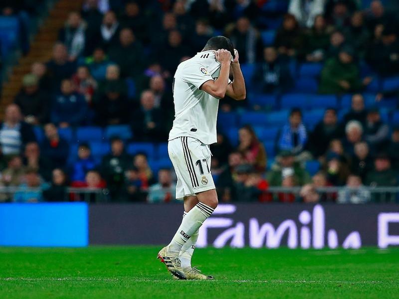 Real Madrid 0 Real Sociedad 2: Ten-man Los Blancos drop points again